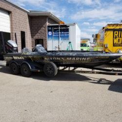 Boat Wrap in Boise