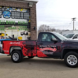 Commercial Truck Vehicle Wrap