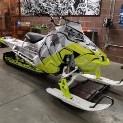Snowmobile Auto Wrap in Boise